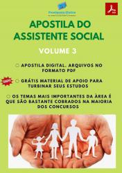 Apostila do Assistente Social Concursos Serviço Social - Volume 3