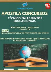 Apostila do Técnico em Assuntos Educacionais Concursos Técnico Assuntos Educacionais