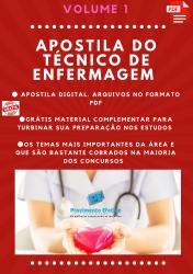 Apostila do Técnico de Enfermagem Concursos Técnico de Enfermagem - Volume 1