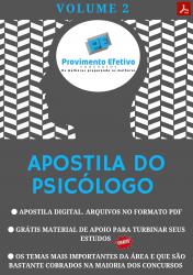 Apostila do Psicólogo Concursos Psicologia - Volume 2