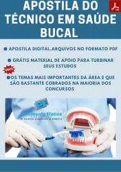 Apostila do Técnico em Saúde Bucal Concursos Técnico Saúde Bucal