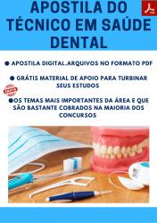 Apostila do Técnico em Saúde Dental Concursos Técnico Saúde Dental