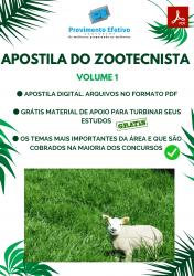 Apostila do Zootecnista Concursos Zootecnia - Volume 1