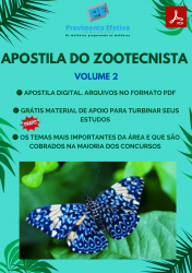 Apostila do Zootecnista Concursos Zootecnia - Volume 2
