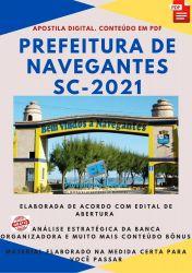 Apostila Concurso Pref Navegantes SC 2021 Médico Auditor