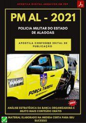Apostila Concurso Policia Militar PM AL 2021 Soldado Combatente