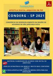 Apostila Concurso CONDERG SP 2021 Nutricionista