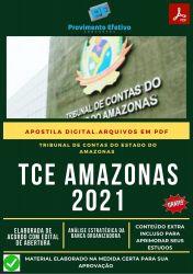 Apostila TCE AM Auditoria Obras Públicas Concurso 2021