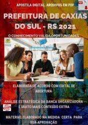 Apostila Prefeitura Caxias do Sul Seleção 2021 Contador