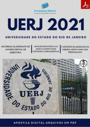 Apostila UERJ Processo 2021 Cargo Medicina do Trabalho