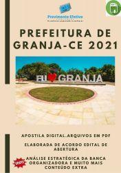 Apostila Prefeitura GRANJA Prova 2021 para Técnico Radiologia