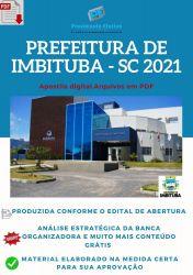 Apostila Prefeitura Imbituba SC Médico do Trabalho  – PEConcursos 2021