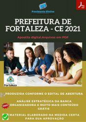 Apostila Prefeitura Fortaleza CE Fonoaudiólogo – PEConcursos 2021