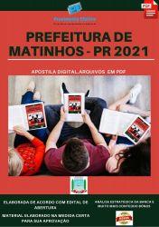Apostila Prefeitura Matinhos PR Técnico Higiene Dental  – PEConcursos 2021