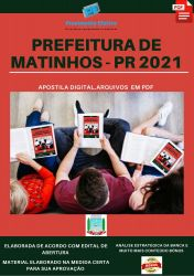 Apostila Prefeitura Matinhos PR Fonoaudiólogo  – PEConcursos 2021