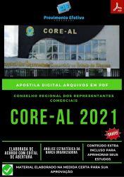 Apostila Concurso CORE AL Auxiliar Administrativo Ano 2021