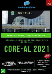 Apostila Concurso CORE AL Contador Ano 2021