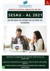 Apostila Concurso SESAU AL Psicólogo – PEC 2021