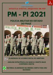 Apostila Digital PM PI Oficial PM Prova 2021