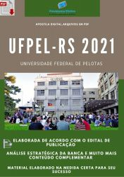 Apostila UFPEL RS cargo Técnico Enfermagem Seleção 2021