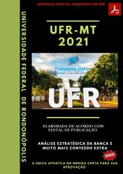 Apostila UFR MT Administrador Prova 2021 – PEConcursos