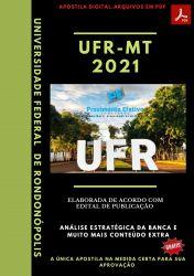 Apostila UFR MT Tecnólogo Análise de Sistemas Prova 2021 – PEConcursos