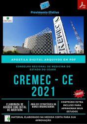 Apostila CREMEC CE Assistente Administrativo Concurso 2021 – PEC