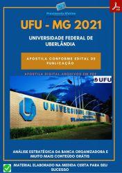 Apostila UFU MG Pedagogo Prova 2021 – PEConcursos