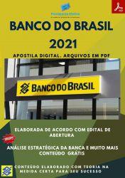 Apostila Banco do Brasil Escriturário Agente Tecnologia Ano 2021 – PEC