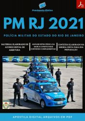Apostila Polícia Militar PM RJ cargo Oficial Seleção 2021