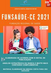 Apostila FUNSAÚDE CE Concurso Fonoaudiólogo – PEC 2021