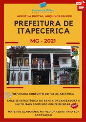 Apostila Prefeitura Itapecerica MG Pedagogo – PEC Ano 2021