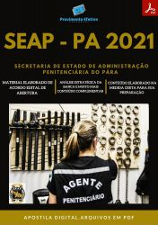 Apostila SETEP PA Agente Penitenciário Concurso 2021