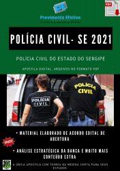 Apostila Polícia Civil SE Agente Polícia Judiciária Prova 2021