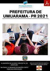 Apostila Prefeitura Umuarama PR Fiscal Sanitário Processo 2021