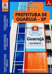 Apostila Prefeitura Guarujá SP Odontólogo Seleção 2021
