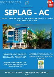 Apostila SEPLAG IAPEN AC Assistente Social Prova 2021
