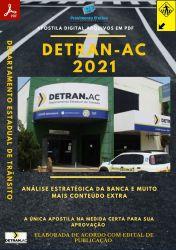 Apostila DETRAN AC Orientador de Trânsito Seleção 2021
