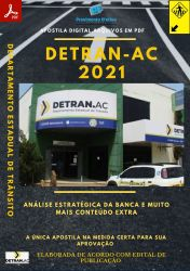 Apostila DETRAN AC Técnico Administrativo Seleção 2021