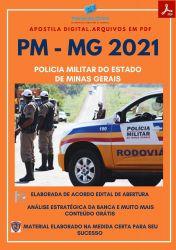 Apostila Policia Militar PC MG CFO SOLDADO Ano 2021