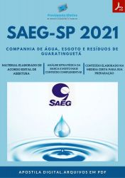 Apostila SAEG SP Técnico Eletromecânico - PEC 2021