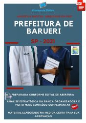 Apostila Prefeitura Barueri SP Técnico Enfermagem Prova 2021