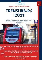 Apostila TRENSURB RS Técnico Enfermagem do Trabalho Ano 2021