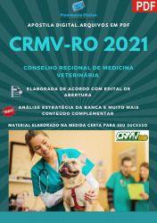 Apostila CRMV RO Auxiliar Administrativo 2021 Download