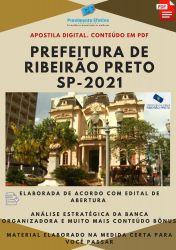 Apostila Pref Ribeirão Preto Agente de Administração Ano 2021