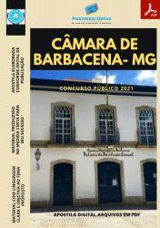 Apostila Câmara de Barbacena MG ADVOGADO Prova 2021