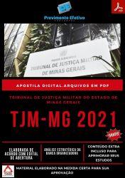 Apostila TJM MG Analista Judiciário Seleção 2021