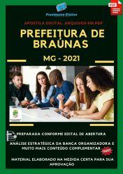 Apostila Prefeitura Braúnas MG Agente Social Ano 2021
