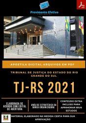 Apostila TJ RS Analista ENGENHARIA CIVIL Concurso 2021