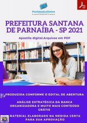 Apostila Pref Santana Parnaíba SP Enfermeiro Ano 2021